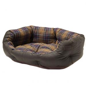 Barbour Wax/Cotton Dog Bed Classic Olive