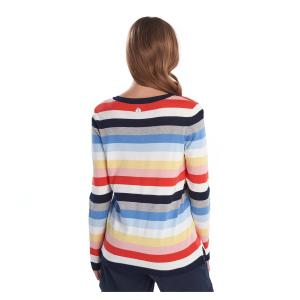 Barbour Ladies Seaview Knit Multi Stripe