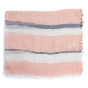 Barbour Shoreside Wrap Pale Pink/Blue
