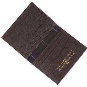 Barbour Small Amble Leather Billfold Dark Brown