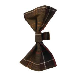 Barbour Tartan Dog Bow Tie Classic