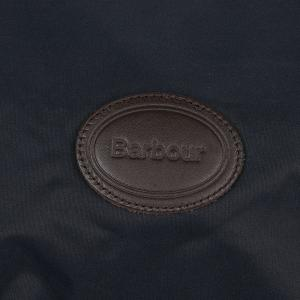 Barbour Tartan Fleece Lined Dog Coat Navy
