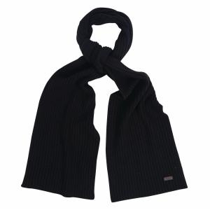 Barbour Unisex Carlton Scarf Black
