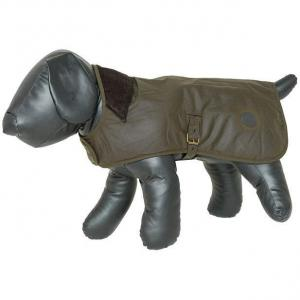 Barbour Wax Dog Coat Olive