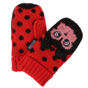Regatta Junior Animally III Mittens Lollipop Ladybird