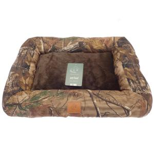 Beamfeature Aspen Camo Dog Bed Brown