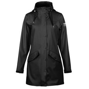 Horze Ladies Billie PU Rain Jacket Black