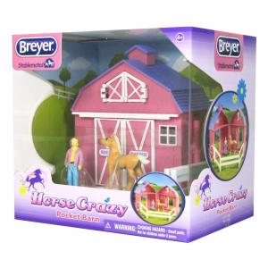 Breyer® Horse Crazy Pocket Barn