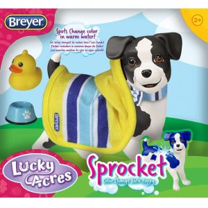 Breyer® Sprocket Bath Time Pup