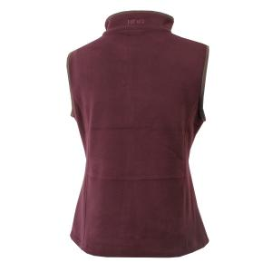 Bridleway Ladies Keswick Gilet Port