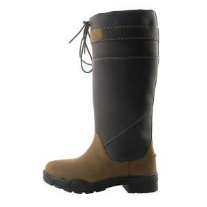 Brogini Childs Derbyshire Fur Lined Boots Brown