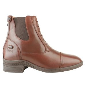 Brogini Ladies Trieste Laced Paddock Boots Brown