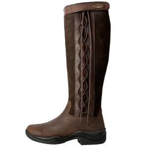 Brogini Ladies Winchester Country Boots Brown