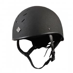 Charles Owen Junior Pro II Plus Skull Hat Black