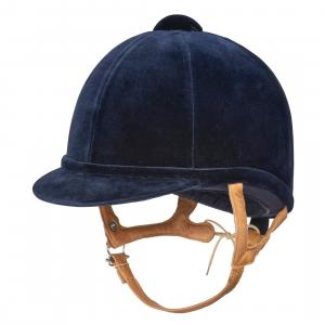 Charles Owen Junior Fian Riding Hat Navy