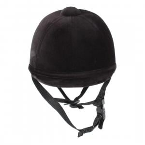 Charles Owen Junior Young Rider Riding Hat Black