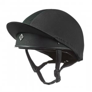 Charles Owen Pro II Vented Hat Silk Black