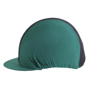Charles Owen Pro II Vented Hat Silk Green