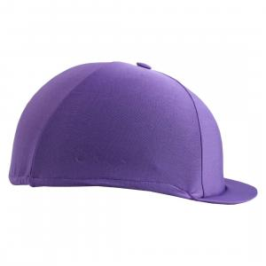 Charles Owen Traditional Non Vented Hat Silk Purple