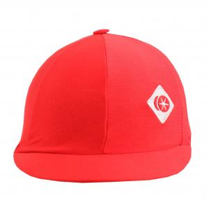 Charles Owen Traditional Non Vented Hat Silk Red