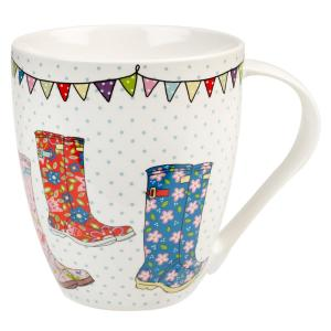 Churchill China Festival Wellies Crush Mug