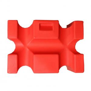 Classic Showjumps Single Parallel Jump Block Red