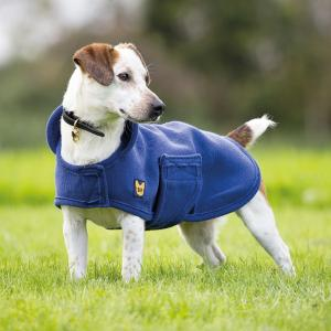 Digby & Fox Dog Towel Coat Navy
