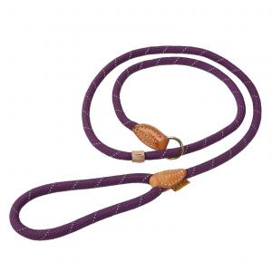 Digby & Fox Reflective Slip Dog Lead Purple