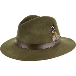 Dubarry Ladies Gallagher Felt Hat Olive
