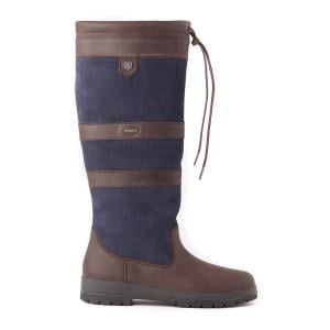 Dubarry Galway Country Boots Navy/Brown