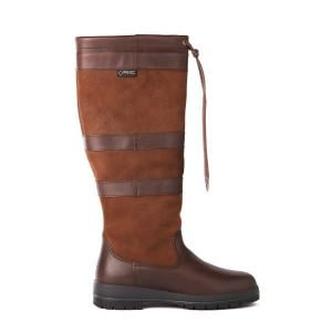 Dubarry Galway Wide Fit Country Boots Walnut