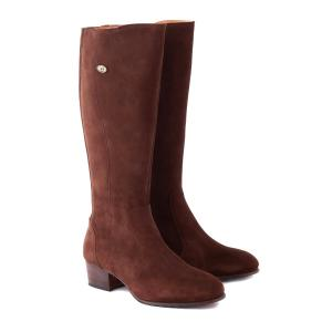 Dubarry Womens Downpatrick Knee High Boots Cigar