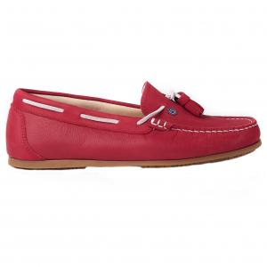 Dubarry Ladies Jamaica Deck Shoes Poppy