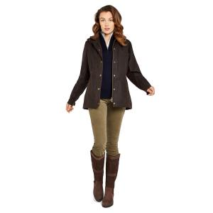 Dubarry Ladies Mountrath Waxed Jacket Java