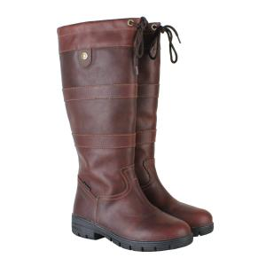Dublin Mens River Grain Boots Red Brown