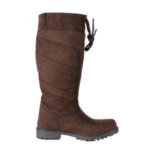 Dublin Ladies Kennet Boots Chocolate