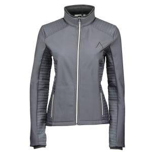 Dublin Black Ladies Jessica Jacket Charcoal