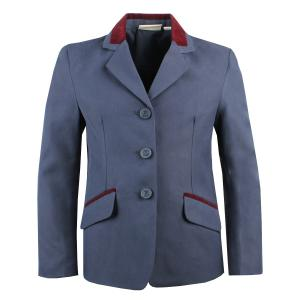 Dublin Childs Atherstone Show Jacket Navy/Burgundy