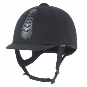 Dublin Childs Silver Pro Riding Hat Black