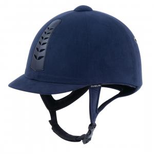 Dublin Childs Silver Pro Riding Hat Navy