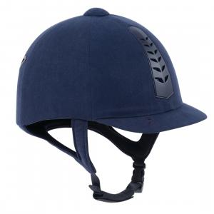 Dublin Adults Silver Pro Riding Hat Navy