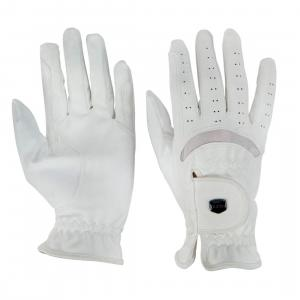 Dublin Dressage Riding Gloves White
