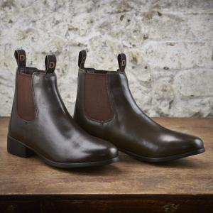 Dublin Childs Foundation Jodhpur Riding Boots Brown