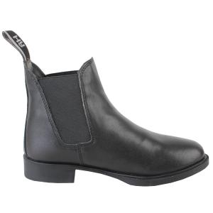 Hy HyLAND Kids Beverly Synthetic Leather Jodhpur Boots Black