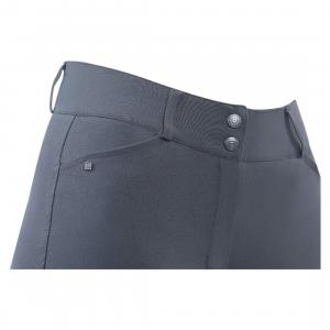 Dublin Ladies Ascent Pro Form Gel Knee Patch High Rise Breeches Charcoal