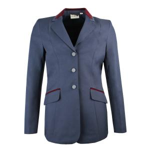 Dublin Ladies Atherstone Show Jacket Navy/Burgundy