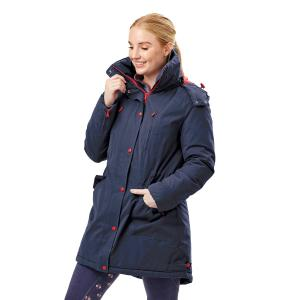 Dublin Ladies Bianca Long Line Parka Jacket Estate Blue