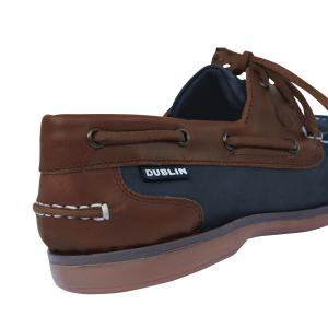 Dublin Ladies Broadfield Arena Shoes Navy/Chestnut