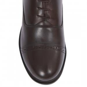 Dublin Ladies Evolution Lace Paddock Boots Brown