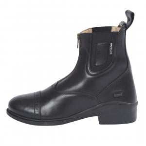 Dublin Ladies Evolution Zip Paddock Boots Black